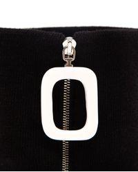 J.W.Anderson Black Wool Neckband