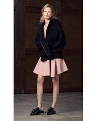 Tibi - Pink Anson Stretch Sleeveless Dress - Lyst