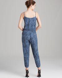 Parker Blue Jumpsuit - Liv Silk