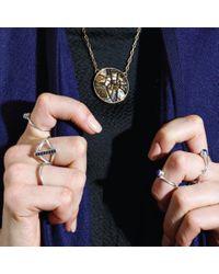 Pamela Love | Metallic Ceres Medallion In Brass | Lyst
