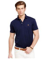 Polo Ralph Lauren   Blue Pima Cotton Soft-touch Shirt for Men   Lyst