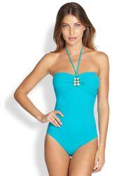 Gottex | One-Piece Koh Samui Bandeau Swimsuit | Lyst