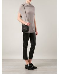 Rick Owens | Black Adri Small Leather Shoulder Bag | Lyst