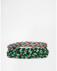 ASOS | Green Paracord Bracelet Pack for Men | Lyst