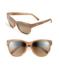 Maui Jim Brown 'ailana' 57mm Sunglasses