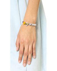 Venessa Arizaga | Fries Bee 4 Guys Bracelet - Black Multi | Lyst
