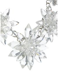 ALDO | Metallic Frerima Flower Collar Necklace | Lyst
