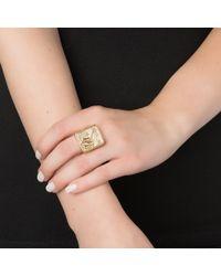 Kelly Wearstler | Metallic Revelry Signet Ring | Lyst