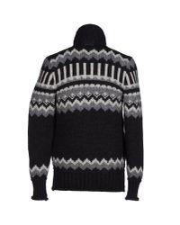 Dolce & Gabbana - Gray Down Jacket for Men - Lyst