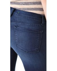 J Brand - Blue 910 Low Rise Ankle Skinny Jeans - Lyst