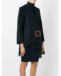 Jacquemus | Blue Tie Fastening Wrap Jacket | Lyst