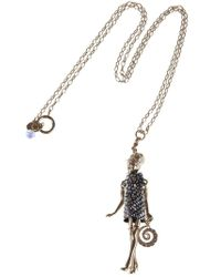 Servane Gaxotte | Metallic Girl Pendant Necklace | Lyst