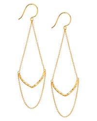 Gorjana - Metallic 'amanda' Drop Earrings - Lyst