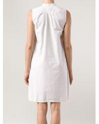 Dosa White Kyrgyz Dress