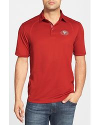 Tommy Bahama - Red 'nfl Firewall - San Francisco 49ers' Moisture Wicking Polo for Men - Lyst