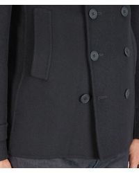 Bottega Veneta - Black Tourmaline Cashmere Coat for Men - Lyst