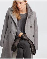 Ann Taylor | Black Long Leather Gloves | Lyst