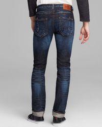 PRPS Blue Jeans - Japanese Selvage Rambler Super Slim Fit In Six Month Wash for men