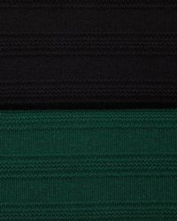 Catherine Malandrino Green Pointelle-knit Cap-sleeve Dress Noir Petite - 0