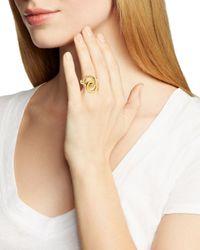 kate spade new york Metallic Knot Ring - Bloomingdale's Exclusive