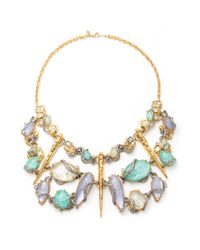 Alexis Bittar | White Moonlight Mosaic Bib Necklace | Lyst