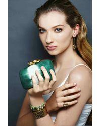 Rachael Ruddick | Metallic Shell Earrings Rose Gold | Lyst