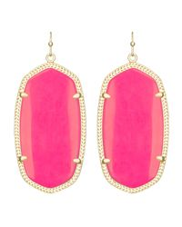 Kendra Scott Pink Danielle Earrings