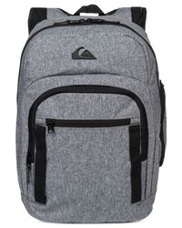 Quiksilver | Gray Schoolie Backpack for Men | Lyst