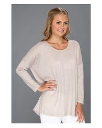 Lisa Taranto Natural Lauren Knit Tee