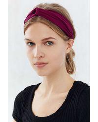 Urban Outfitters   Purple Crisscross Bella Headwrap   Lyst