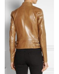 Belstaff Brown Hackthorn Leather Biker Jacket