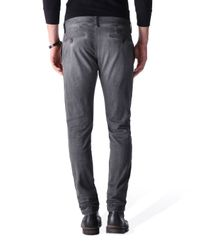 DIESEL - Gray Chi-shaped for Men - Lyst