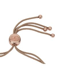 Caroline Creba - Pink 18ct Rose Gold Plated Titania Friendship Bracelet - Lyst