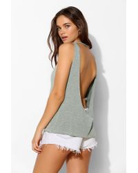 Truly Madly Deeply | Green Drape-back Tank Top | Lyst
