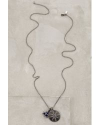 Elizabeth and James - Metallic Balaton Necklace - Lyst