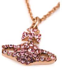 Vivienne Westwood - Metallic 'Joyce' Necklace - Lyst