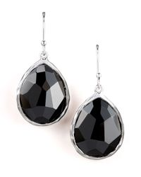 Ippolita | Black Small Teardrop Earrings | Lyst
