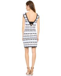 Nanette Lepore Blue Fierce Dress Azul
