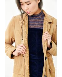 Obey | Brown Fairfield Fleece-lined Hooded Jacket | Lyst