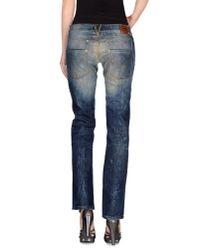 Dolce & Gabbana - Blue Denim Trousers - Lyst
