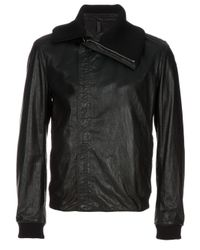 Dior Homme Black Leather Jacket for men