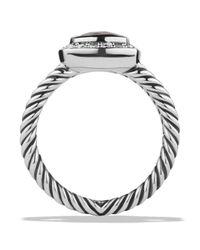 David Yurman - Metallic Petite Albion Ring with Smoky Quartz Diamonds - Lyst