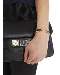 Vita Fede | Mini Titan Black Metal Bangle | Lyst