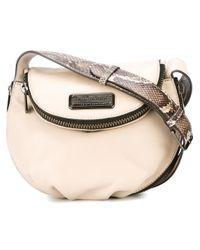 Marc By Marc Jacobs | Natural Mini 'new Q Zippers Natasha' Crossbody Bag | Lyst