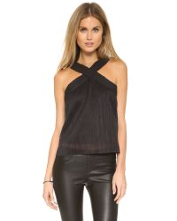 Bec & Bridge | Black Moonlit Top | Lyst