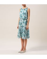 Hobbs | Blue Princess Elizabeth Dress | Lyst