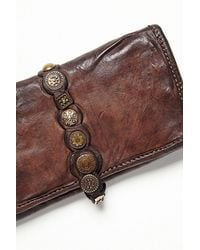Free People Brown Campomaggi Womens Amaretto Wallet