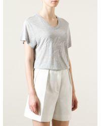 Zoe Karssen Gray 'Addicted To Love' T-Shirt