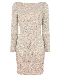 Coast Pink Lydie All Over Sequin Dress