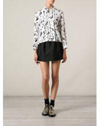 Marni - White Printed Shirt - Lyst
